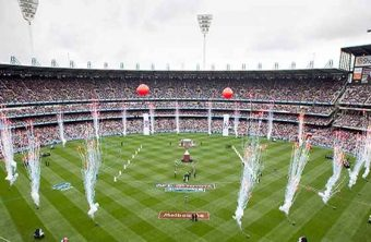 Gearing up for the AFL Grand Final